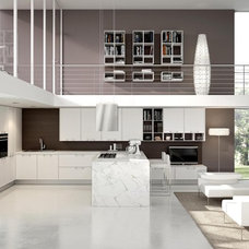 Contemporary Kitchen Cabinets by Aster Cucine