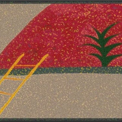 Fragility Design Outdoor Rug - The Fragility design of outdoor rug is derived from the imaginative series of original art work created by artist David Milliken.