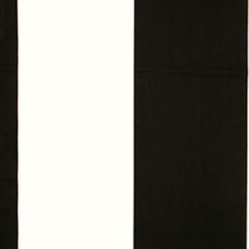 Wide Stripe Fabric, Black/White