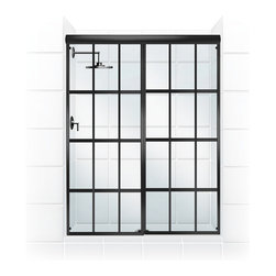 GRIDSCAPE™ Series Sliding Shower Door Conversion Kit - Coastal Shower Doors