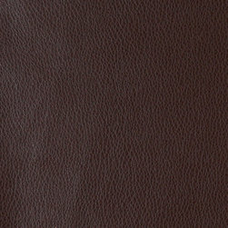 P0075-Sample - Recycled leather is a sustainable environmentally friendly alternative to leather and pvc. Recycled leather looks and feels like genuine leather, but is sold by the yard and easier to maintain. The backing of this pattern is a blend of genuine leather, and results in a soft and durable leather alternative. There are several grades of recycled leather materials, ours are top grade. This material is cleanable with mild soap and water.