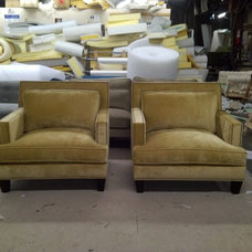 Eclectic Living Room Chairs by Monarch Sofas
