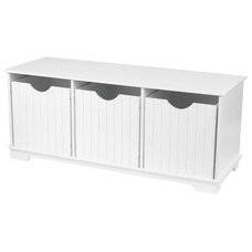 Modern Kids Storage Benches And Toy Boxes Nantucket Storage Bench by Kidkraft