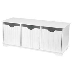 modern toy storage Nantucket Storage Bench by Kidkraft