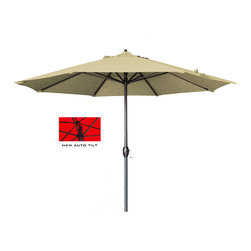 California Umbrella - 9 Foot Olefin Fabric Aluminum Auto Tilt Market Umbrella with Bronze Pole - California Umbrella, Inc. has been producing high quality patio umbrellas and frames for over 50-years. The California Umbrella trademark is immediately recognized for its standard in engineering and innovation among all brands in the United States. As a leader in the industry, they strive to provide you with products and service that will satisfy even the most demanding consumers.