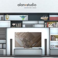 Modern Media Storage by Alanostudio