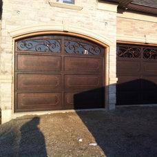 Mediterranean Garage Doors And Openers by Texas Overhead Doors