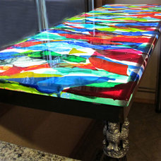 Bathroom Countertops by icings glass