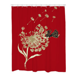 Sharp Shirter - Sharp Shirter Not So Dandy Shower Curtain - This curtain is printed in USA!. Hooks sold separately. Disclaimer: If you order multiple items, they may ship from separate locations.