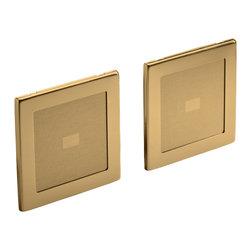 KOHLER - KOHLER K-8033-BV Sound Tile speakers (pair of speakers) in Vibrant Brushed Bronz - KOHLER K-8033-BV Sound Tile Speakers (Pair of Speakers) in Vibrant Brushed Bronze