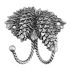 Sierra Lifestyles Decorative Hook - Pinecone - Pewter - Get Idea About Sierra Lifestyles Decorative Hook - Pinecone - Pewter. Sierra Lifestyles  Cabinet Hardware, Cabinet  Knobs, Cabinet Pulls , Switch plates, Rustic cabinet hardware, Double Hook, Hook, Decorative Hook, Knobs, Pulls and Decorative Hardware Accessories