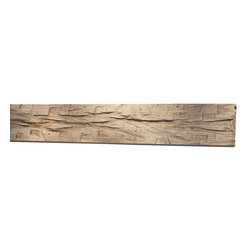 "Punky Hill - Distressed Fireplace Mantle, 72"", Without Ledge (6""x6""), Plain - Punky Hill Distressed Mantles are full of age and character.  All sizes are available from the basic 6"" x 6"" to the 6"" x 6"" with a 3"" x 7"" ledge."