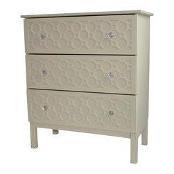"O'verlays® - O'verlays® Ruby Kit for IKEA Tarva 3 Drawer: 8.75"" x 29.5""x 1/8"" (3) - O'verlays® Ruby Kit for IKEA® Tarva 3 Drawer: 8.75"" x 29.5""x 1/8"" (3)"