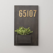 Contemporary House Numbers by Schoolhouse Electric