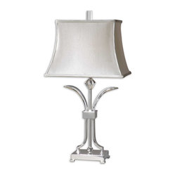 Carovilli Nickel Table Lamp