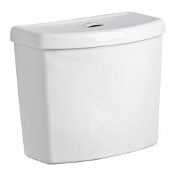 "American Standard - American Standard 4000.204.020 4000.204 Dual Flush 12"" Rough-In, Tank Trim White - This American Standard 4000.204.020 Dual Flush 12"" Rough-in Tank Complete with Coupling Components and Tank Trim is part of the Studio collection, and comes in a beautiful White finish. This tank features a 1.1/1.6 GPF dual flush valve, a 12"" Rough-in, and it comes complete with a set of coupling components and tank trim."