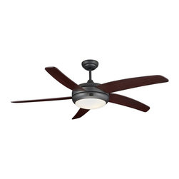 """Frisco 52"""" Ceiling Fan With Light - Matte Black - If you're looking for a way to cool down, add style to your room, and save energy; you need not look any further because our ceiling fans are a great way to cover all of your needs. Our ceiling fans were designed to appeal to a variety of styles ranging from modern to traditional. All of our ceiling fans were designed and manufactured with the utmost quality and precision. Accent your decor while featuring our ceiling fans as your new centerpiece."""