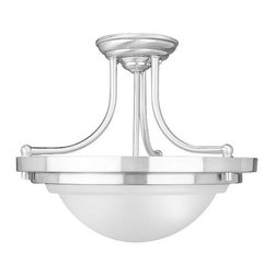 NATIONAL BRAND ALTERNATIVE - Chandelier-2 Light-Brushed Nickel - Features: