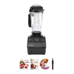 Reconditioned Blender With Soft Grip Container - Banish all memories of struggling with your old blender with this Vitamix. You will instantly become a frozen drink queen with this beast of a machine at your fingertips. Check out the reconditioned versions for a break on the price — they work perfectly and are still backed by a five-year full warranty.