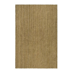 Safavieh - Natural Fiber Traditional Rug in Natural (10 ft. x 8 ft.) - Choose Size: 10 ft. x 8 ft. Rectangular shape. Power loomed. Soft and durable. Made from sisal. Made in India. This densely woven rug will add a warm accent and feel to any home. Care Instructions: Vacuum regularly. Brushless attachment is recommended. Avoid direct and continuous exposure to sunlight. Do not pull loose ends; clip them with scissors to remove. Remove spills immediately; blot with clean cloth by pressing firmly around the spill to absorb as much as possible. For hard-to-remove stains professional rug cleaning is recommended.