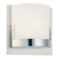 Kovacs - Kovacs P5952 1 Light Wall Sconce from the Convex Collection - George Kovacs P5952Single Light Wall Sconce from the Convex Collection