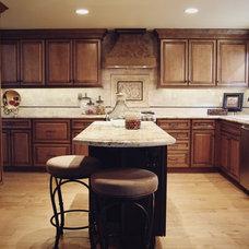 Mediterranean Kitchen by Principle Design & Construction