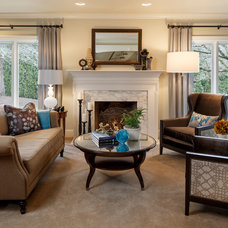 Traditional Living Room by Jason Ball Interiors, LLC