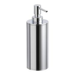 KOHLER - KOHLER K-14379-CP Purist Countertop Soap/Lotion Dispenser - KOHLER K-14379-CP Purist Countertop Soap/Lotion Dispenser in Polished Chrome