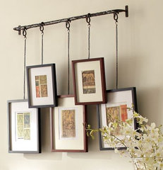 eclectic frames by Pottery Barn