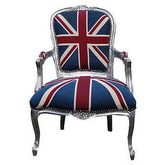 eclectic armchairs by Not on the High Street