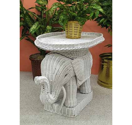 Eclectic Side Tables And End Tables by WICKER WAREHOUSE