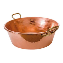 Mauviel - Mauviel M'passion Copper Jam Pan - Hammered copper, bronze handle. 1.2-2 mm thick.