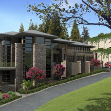 Contemporary Rendering by Gelotte Hommas Architecture