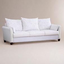 Luxe Three-Seat Sofa Frame   World Market