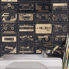 Eclectic Wallpaper by Bodie and Fou
