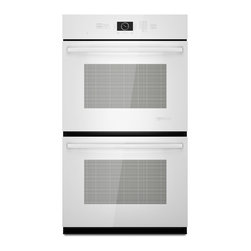 "Jenn-Air 30"" Double Electric Wall Oven, White On White 