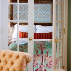 Eclectic Bedroom by Lisa Wolfe Design, Ltd