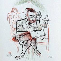 William Gropper, Untitled 16, Lithograph - Artist:  William Gropper, American (1897 - 1977)