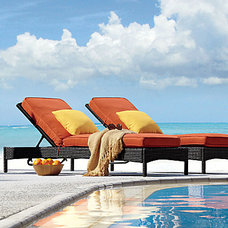 Contemporary Outdoor Chaise Lounges by Improvements Catalog