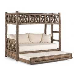 La Lune Collection - Rustic Bunk Bed #4256 by La Lune Collection - Rustic Bunk Bed 4256 by La Lune Collection