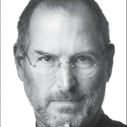 """""""Steve Jobs"""" By Walter Isaacson, Simon & Schuster - A collection of Apple products wouldn't be complete without this fascinating book on the founder of Apple, Steve Jobs. We think this would make a great coffee table book, with it's striking black and white cover, for the true Apple aficionado."""