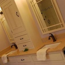 Traditional Bathroom by Creative Spaces & Designs LLC.