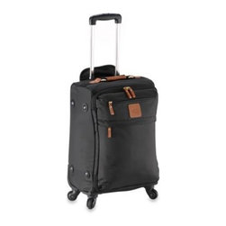 "Bric's - Bric's X-Travel Lightweight 21-Inch Carry-On Trolley in Black - This lightweight 21"" Carry-On Spinner is part of the stylish X-Travel Collection. Features four spinner wheels for easy handling."