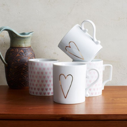 contemporary cups and glassware by West Elm
