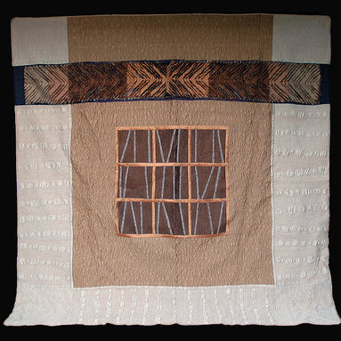 silk quilts bedding - Custom quilted one of a kind silk quilts made of recycled Japanese kimonos and duppioni silk.