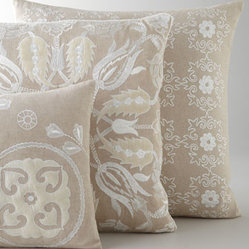 Design Accents Embroidered Accent Pillows