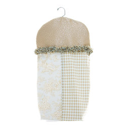 Glenna Jean - Glenna Jean Diaper Stacker - Central Park - The Glenna Jean Diaper Stacker - Central Park is a beautiful and convenient way to keep your babys diapers out of sight. Hang from crib rails or changer for best access during diaper changes. Diaper Stacker measures 14 x 25 x 8.5.