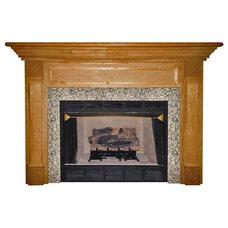 Modern Fireplace Mantels by Hayneedle