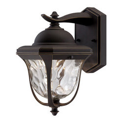 "Designer Fountain - Marquette 6 1/2"" LED Wall Lantern - 6.5 inches Wall Lantern"