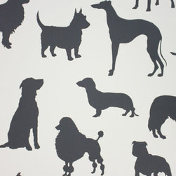 "Best in Show Wallpaper - I think ""Best in Show"" by Osborne & Little would be the perfect wallpaper for a mudroom or laundry room."